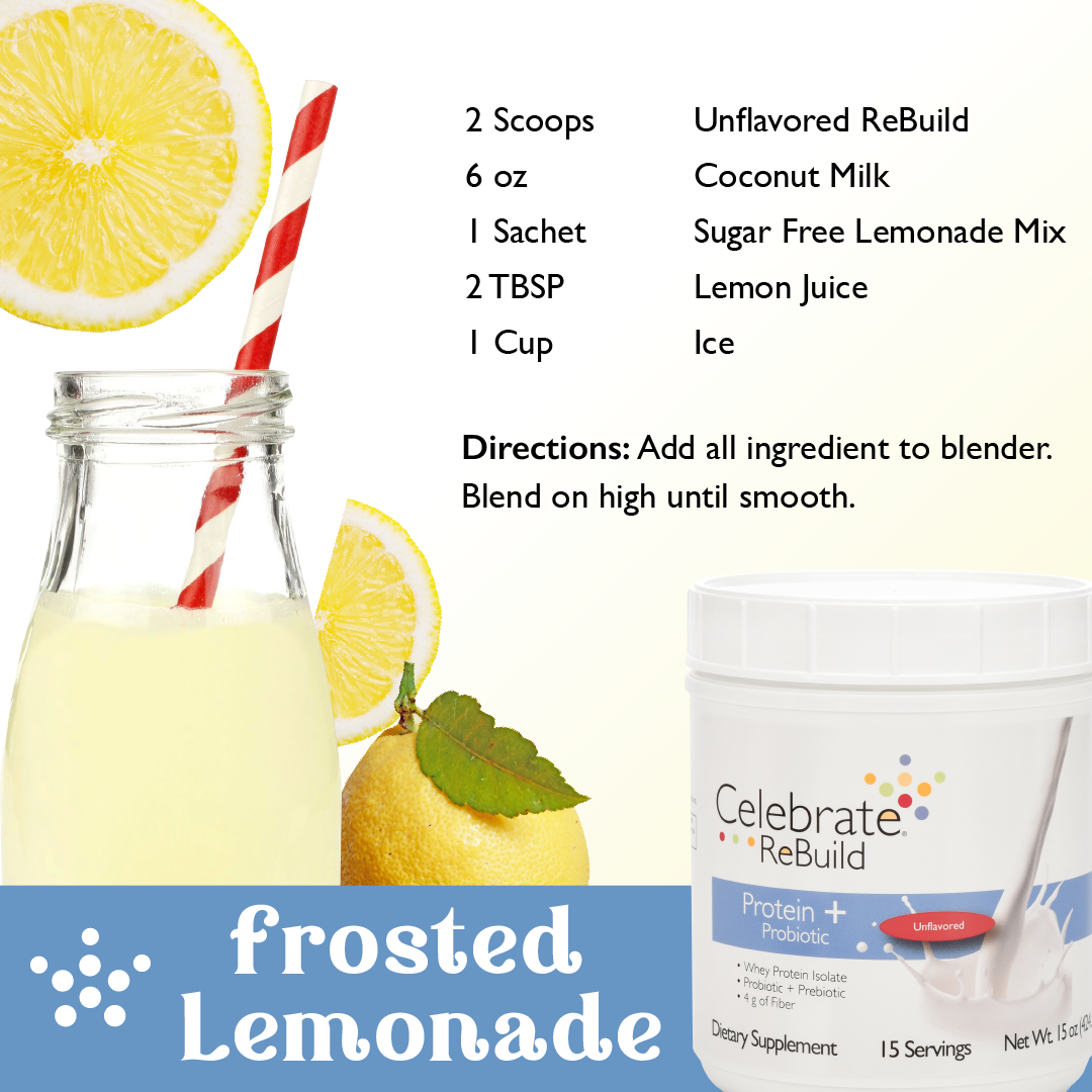 Frosted Lemonade Protein Shake
