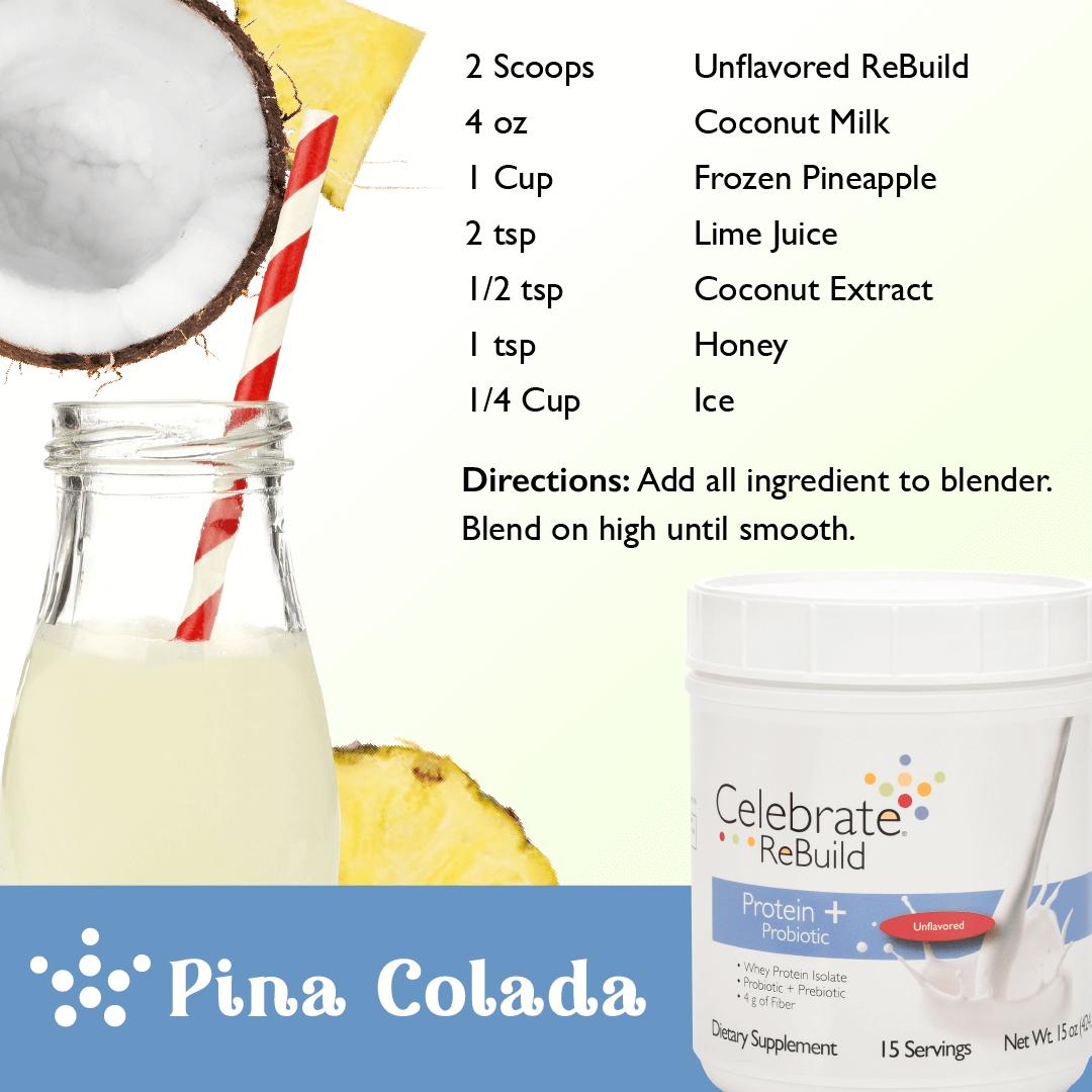 Pina Colada Protein Shake