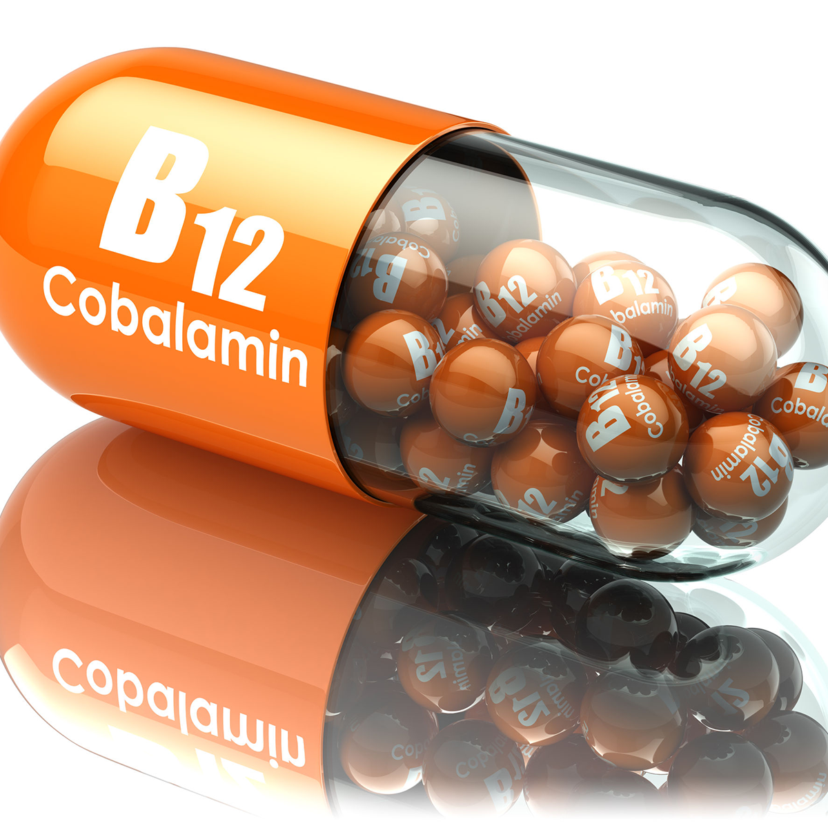 Picture of example B12 Capsule