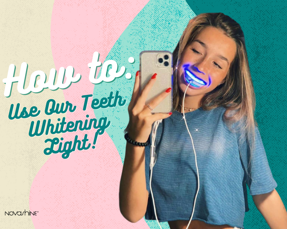 How To Use Our LED Teeth Whitening Light