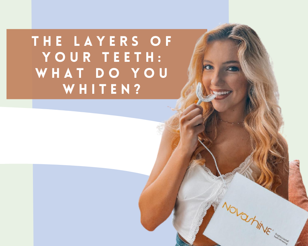 The Layers of Your Teeth: What Do You Whiten?