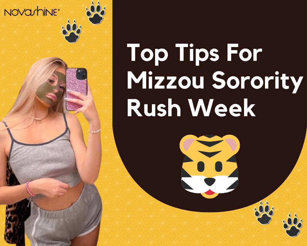 Top Tips For Sorority Rush Week at Mizzou