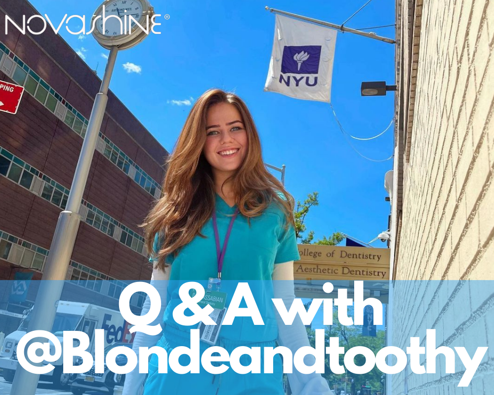 Whitening Q&A with @BlondeandToothy