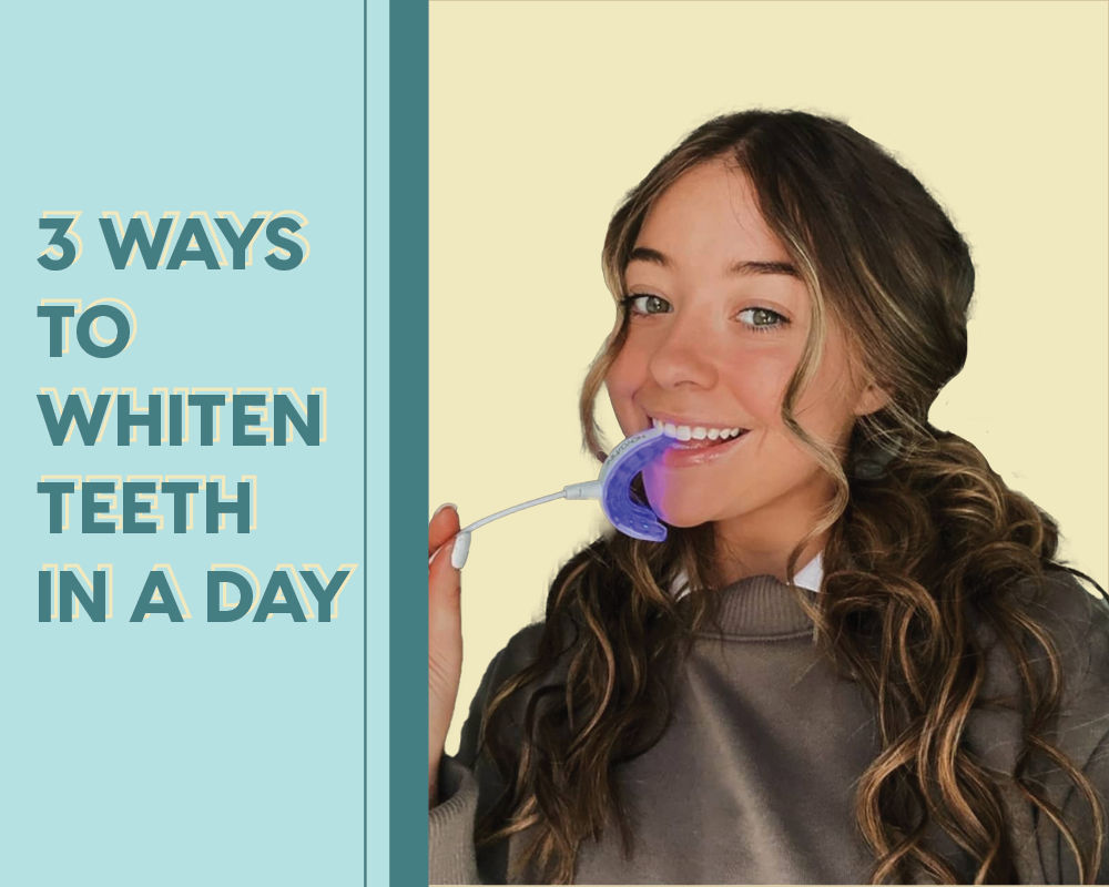 Three Ways To Whiten Yellow Teeth In A Day