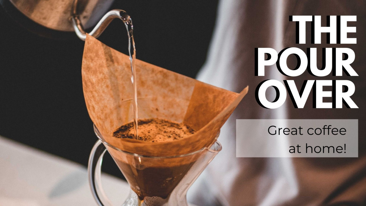 Pour Over Coffee - Instructions for Perfect Coffee and Great Ratios