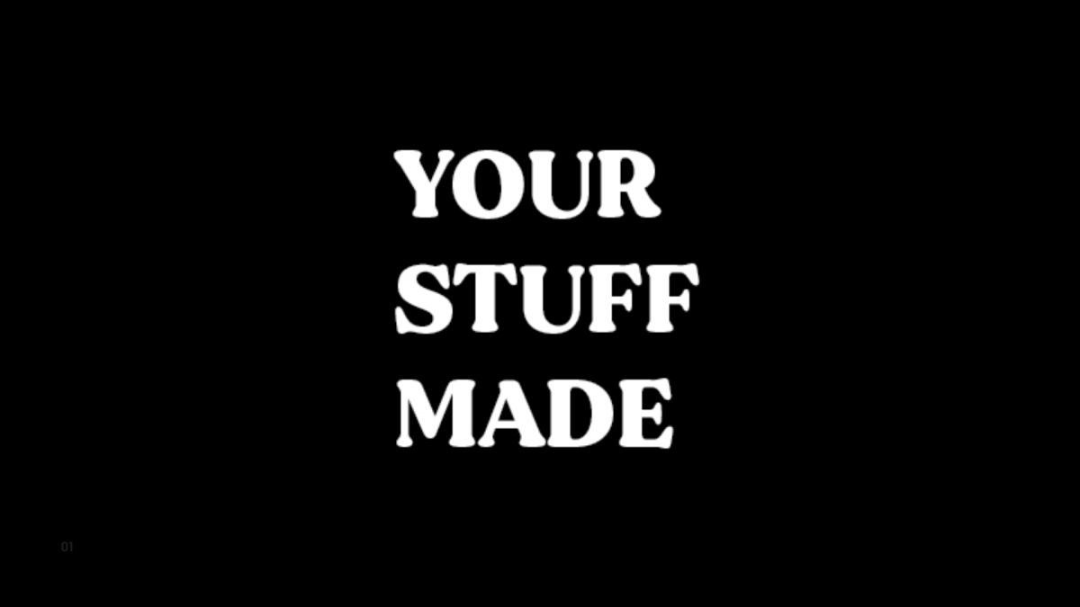About YourStuffMade.com
