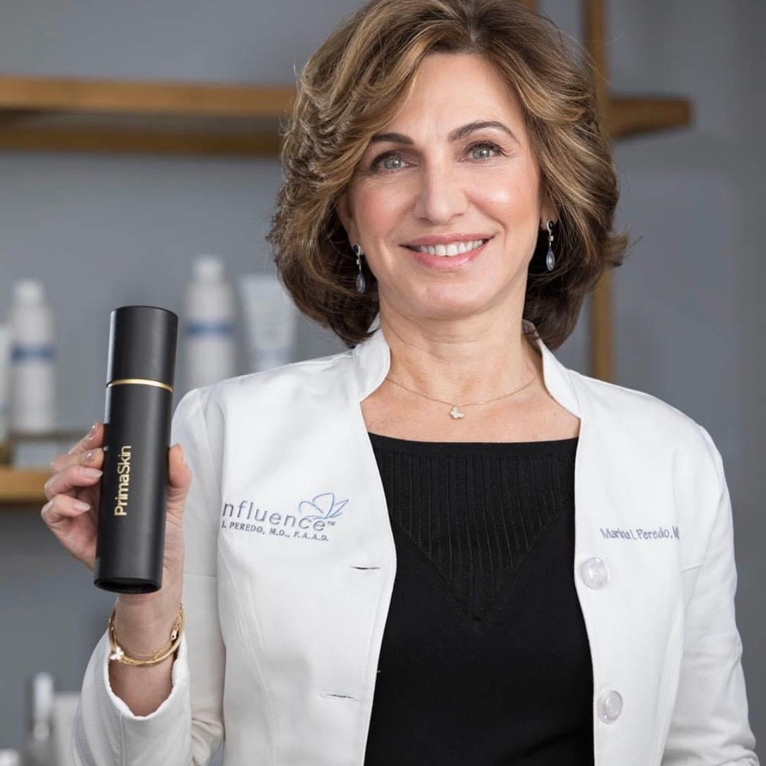PrimaSkin... Dr Marina Peredo, renown Dermatologist loves it!
