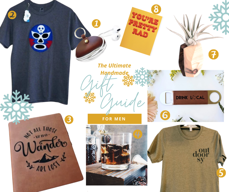 8 gifts made by women that men will love
