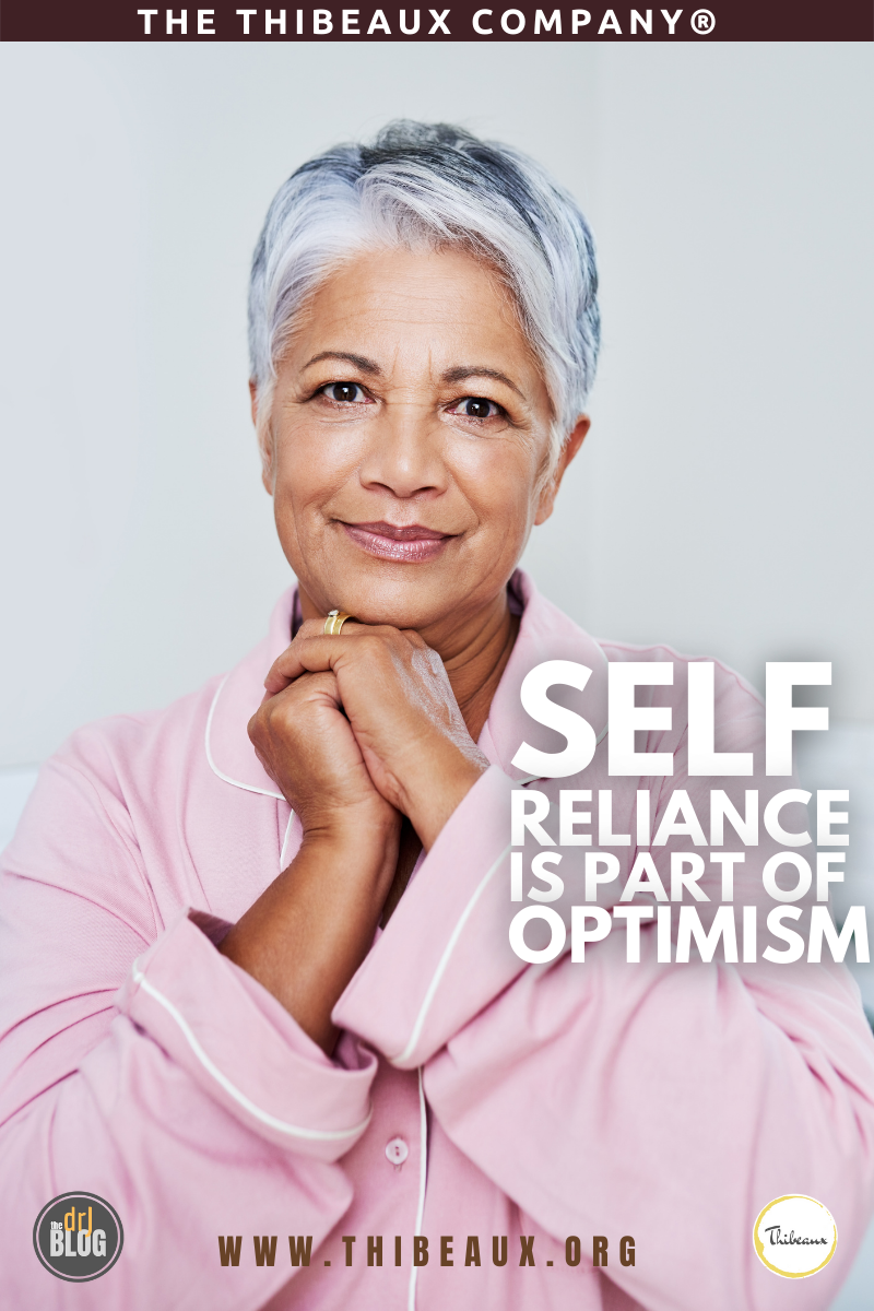 Self Reliance Is a Part of Optimism