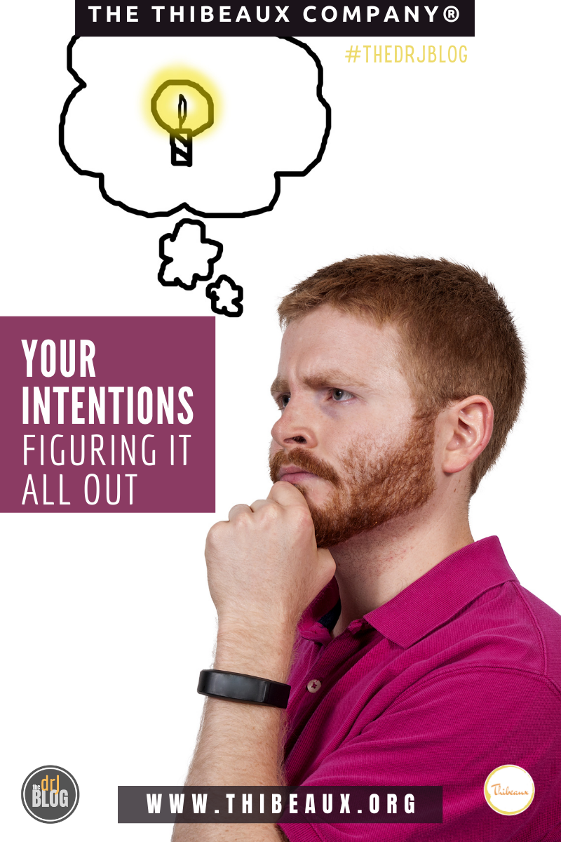Your Intentions - Figuring It All Out