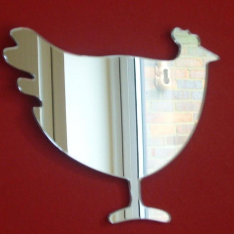 chicken mirror