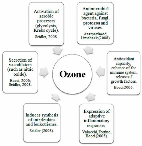 ozone treatment categories