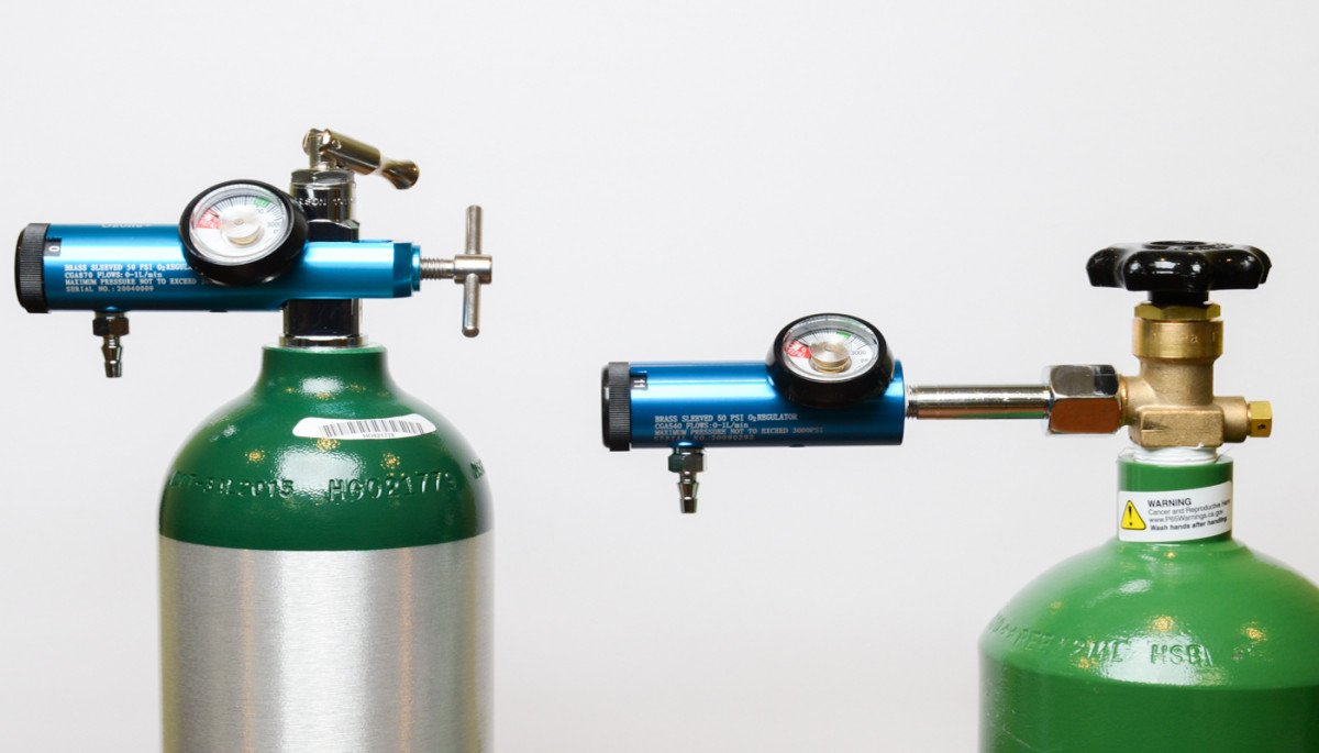Oxygen Tank and Regulator Needed for Ozone Therapy