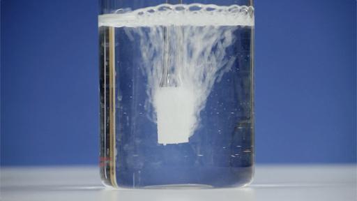 ozonating water