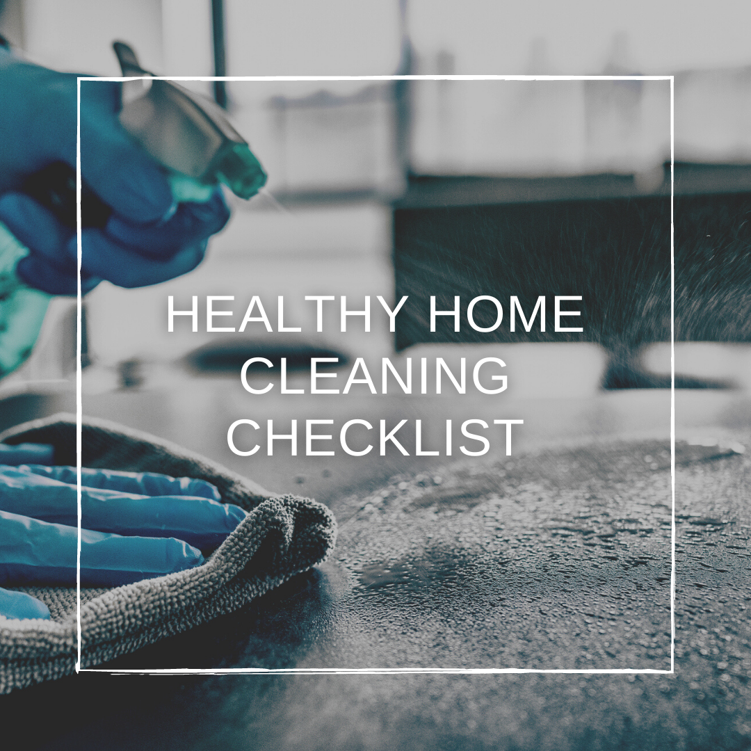 New Year New Home: Cleaning Checklist