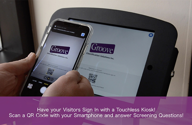 Touchless Visitor Kiosks Improve Hygiene and Team Deployment