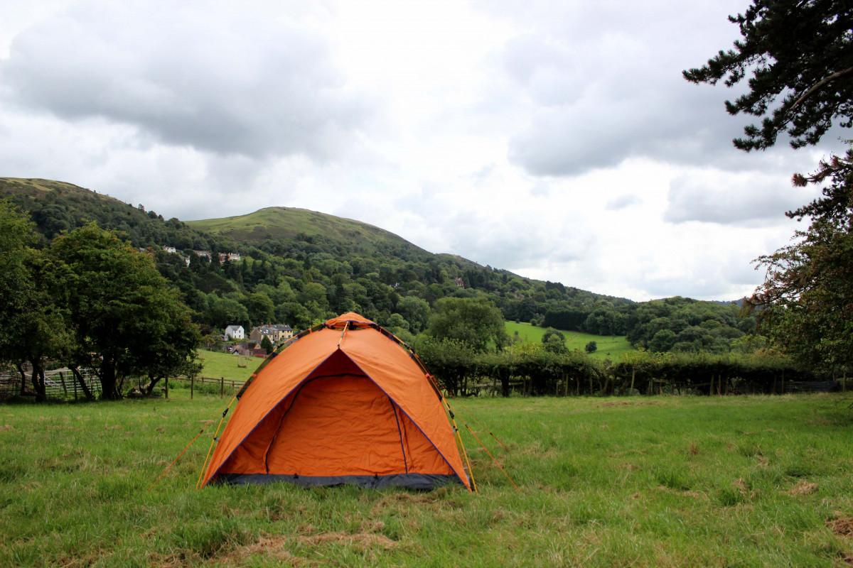 OLPRO Orange POP tent