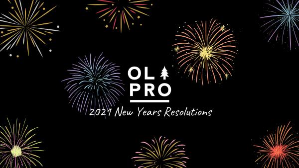 Résolutions du Nouvel An 2021 avec OLPRO