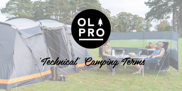 'Technical' Camping Terms