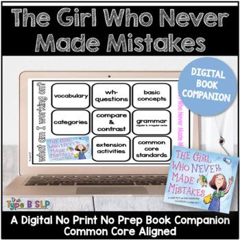 girl who never made mistakes book companion