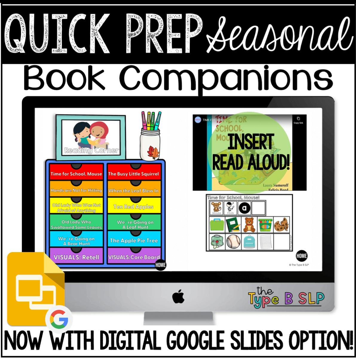 seasonal quick prep book companions