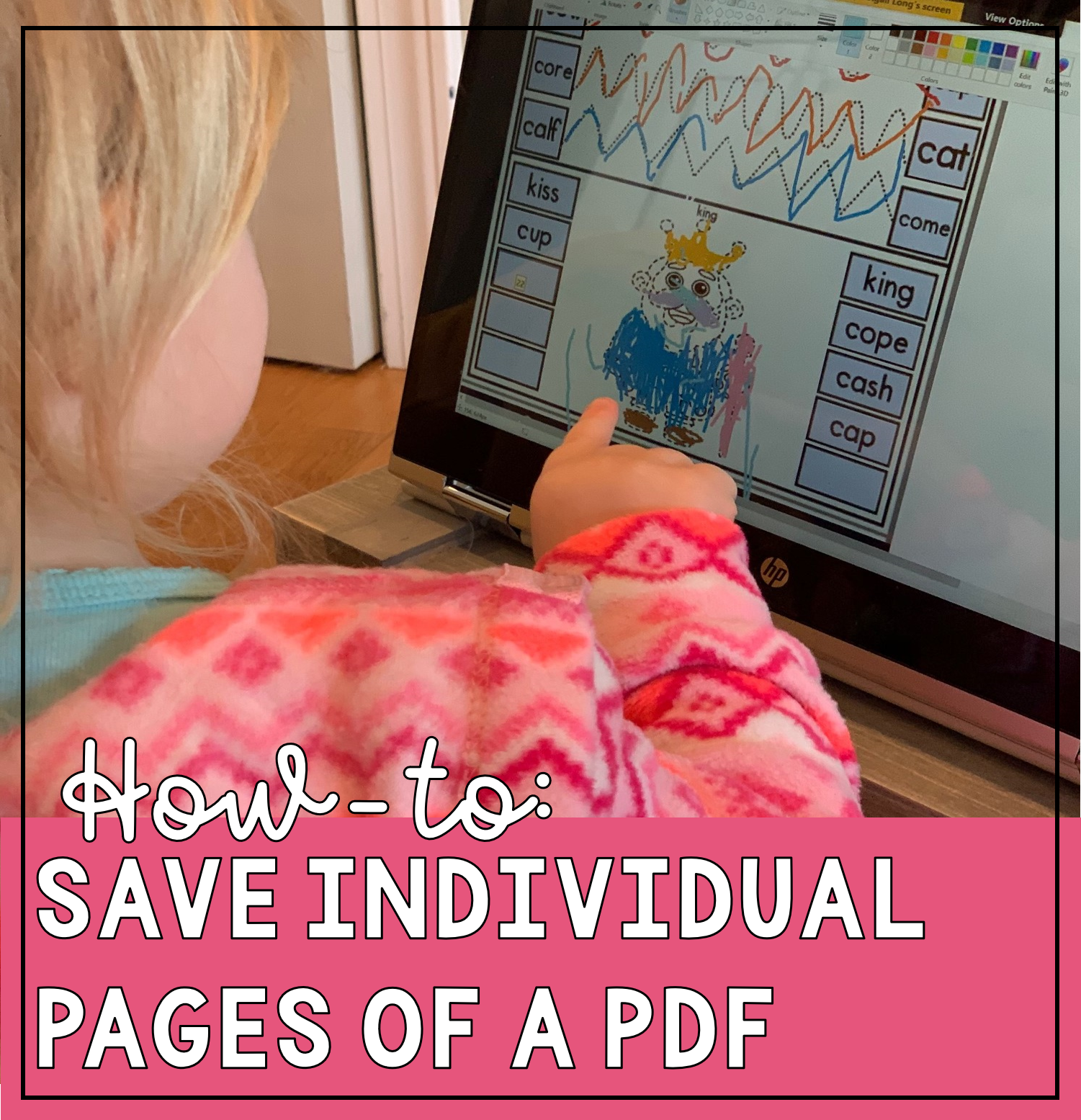 How to Save Individual Pages of a PDF