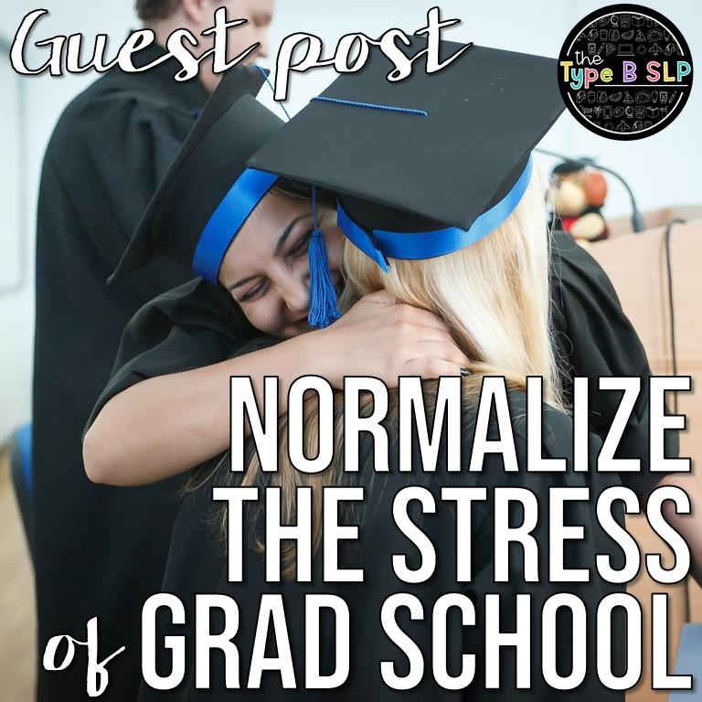 Normalizing the Stress of Grad School: Guest Post