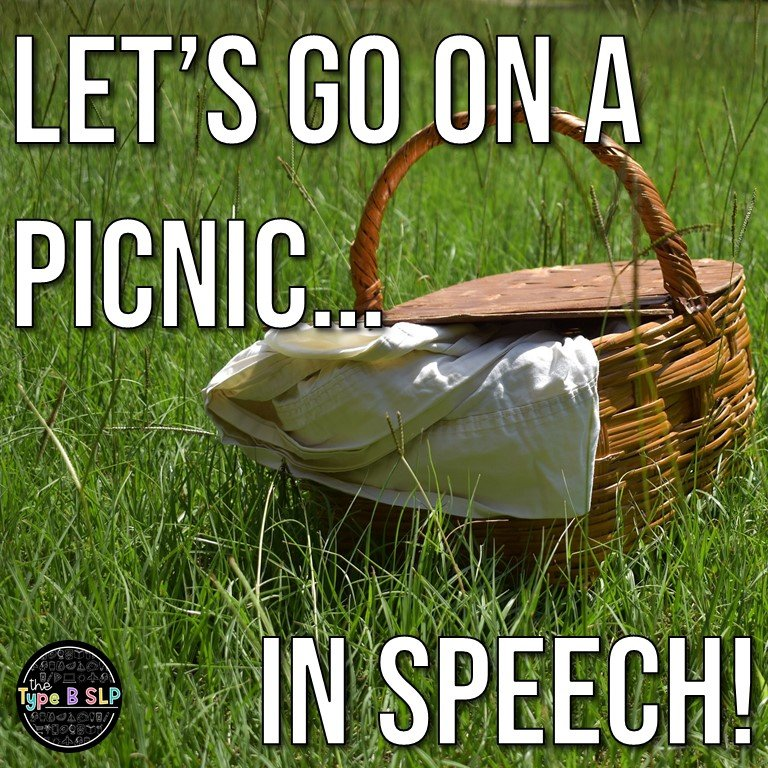 Let's Have a Picnic in Speech!