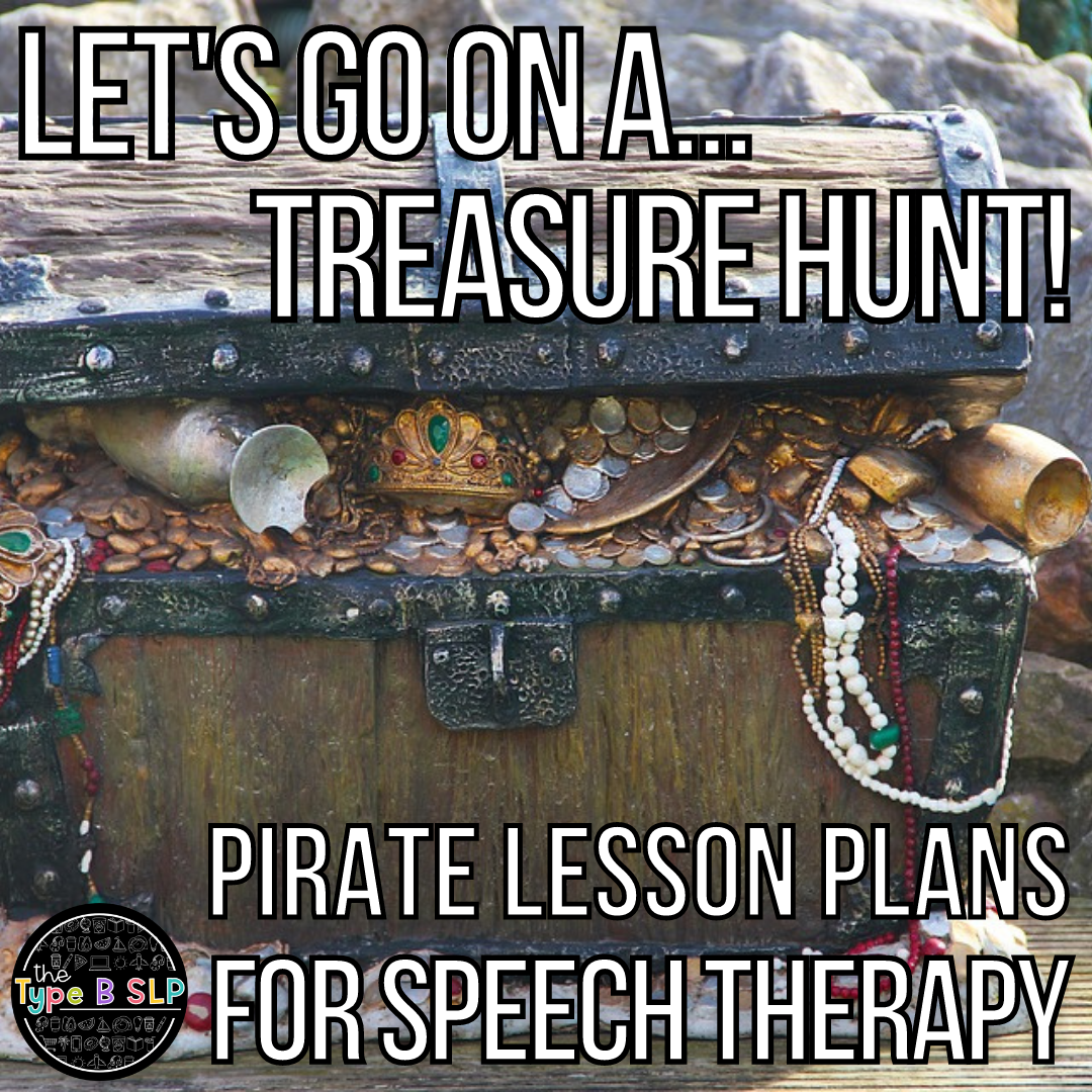 Pirate Lesson Plans for Speech Therapy