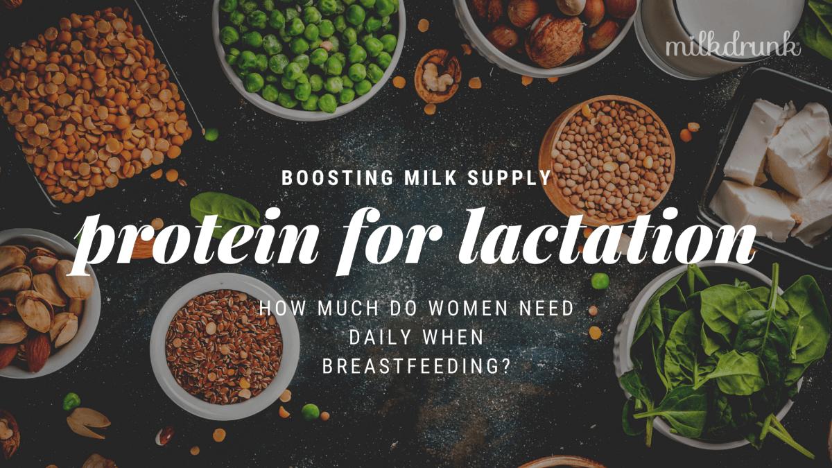 Does Protein Increase Milk Supply when Breastfeeding?