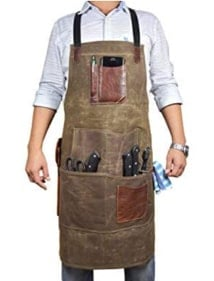 leather apron for men