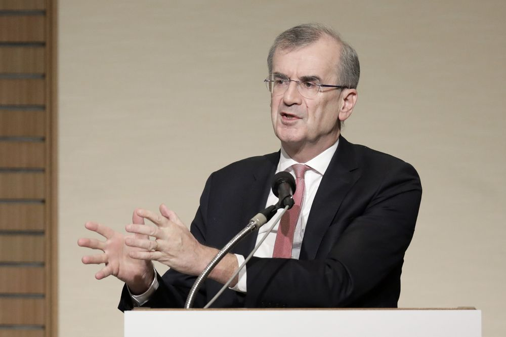 ECB's Villeroy says that France and the EZ should be back to pre-COVID levels in early 2022 or maybe before this