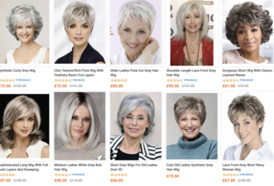 menopause and wigs