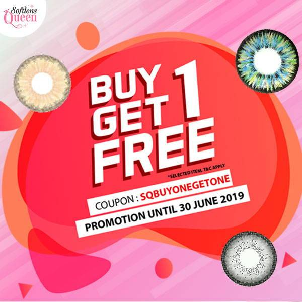 June Promo : Buy One Get One (Expired)