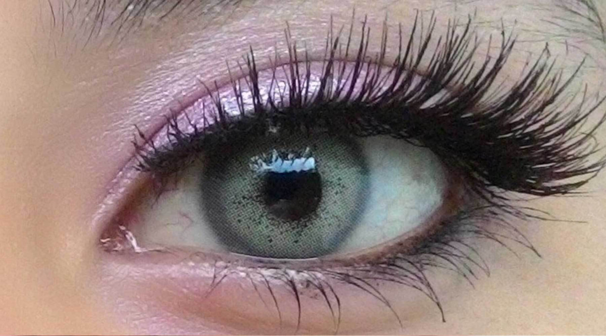 Stay Natural with Sweety Batis Gray Colored Contact Lens
