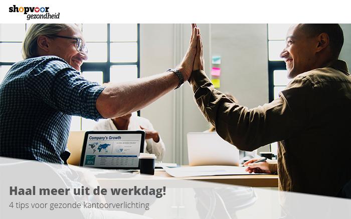 4 tips voor gezonde kantoorverlichting