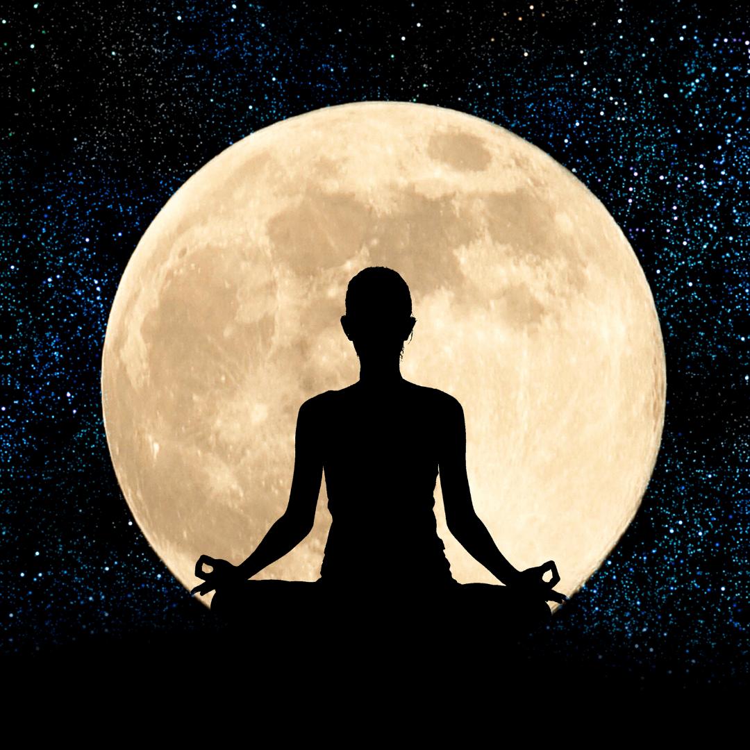 Månehilsen - Yogasekvens