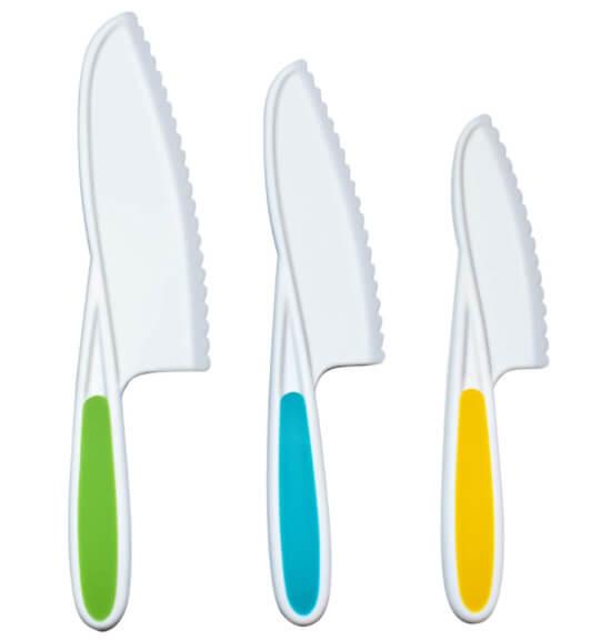 Kid Safe Knives for Children Cooking