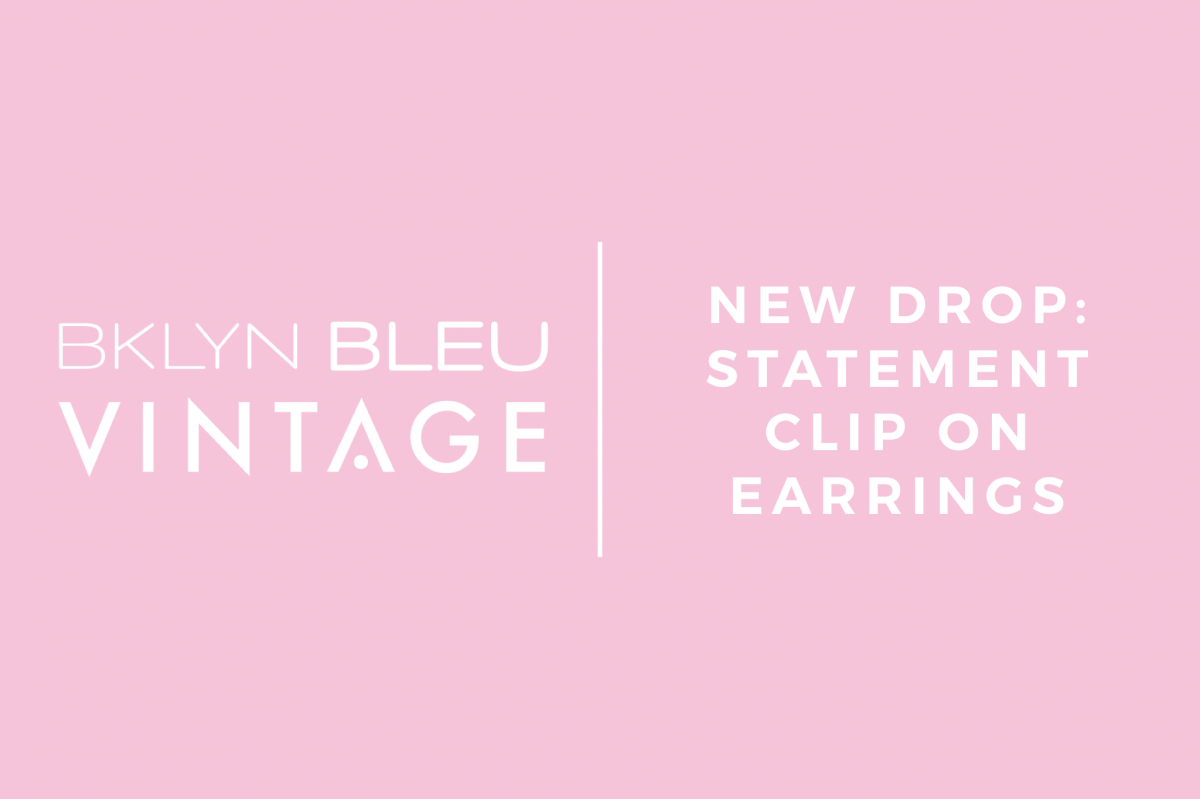 NEW DROP: Statement Clip On Earrings