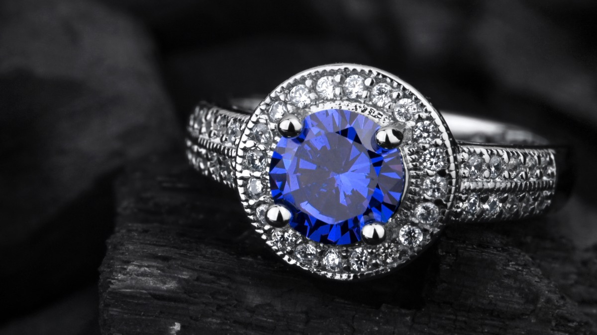Blue Sapphire and Diamond Jewellery