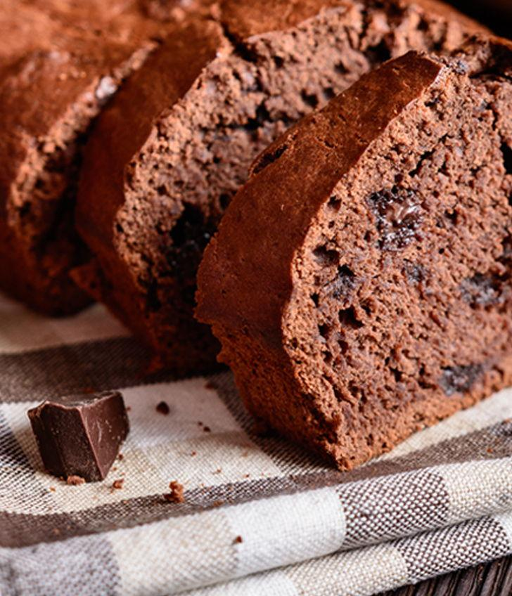 Chocolate Protein Bread