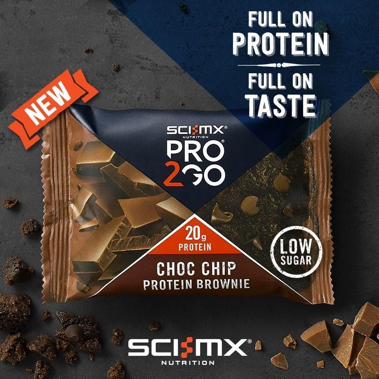 PRO 2GO Choc Chip Protein Brownie
