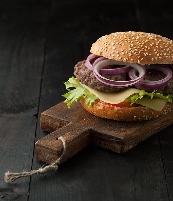 Guiltless, High-Protein Cheeseburger