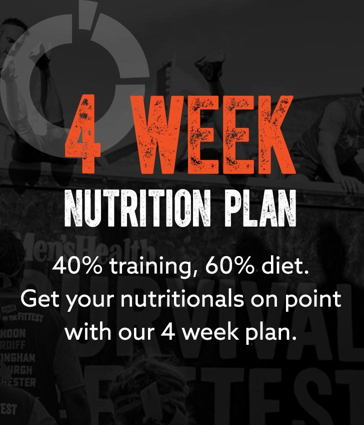 Survival Of The Fittest - 4 Week Nutrition Plan