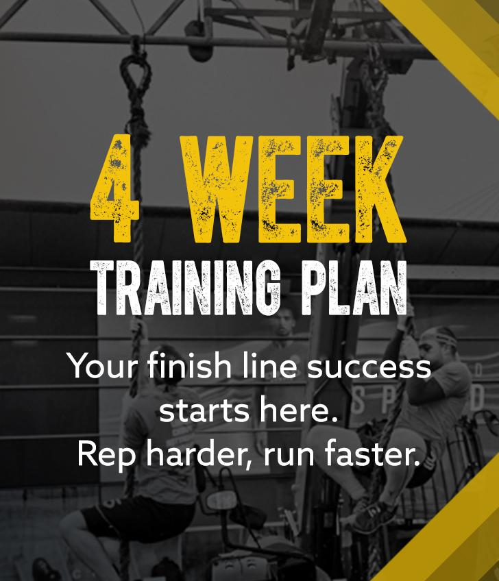 Survival Of The Fittest - 4 Week Training Plan