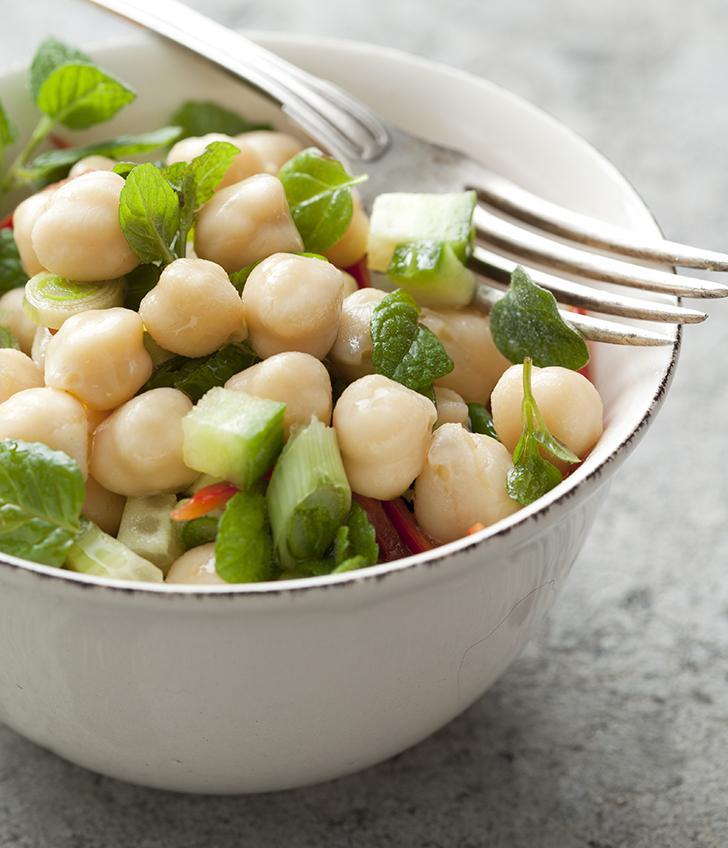 Chickpea, Mango and Curried Cauliflower Salad Recipe