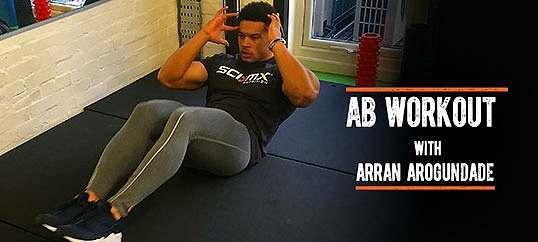 Ab Workout With Arran Arogundade