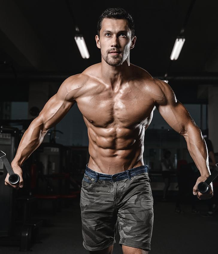 Build Hardcore Traps & Delts with Upright Rows