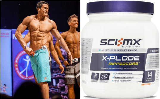 A Review of SCI-MX X-PLODE RIPPEDCORE™ by SCI-MX athlete Martin Silva