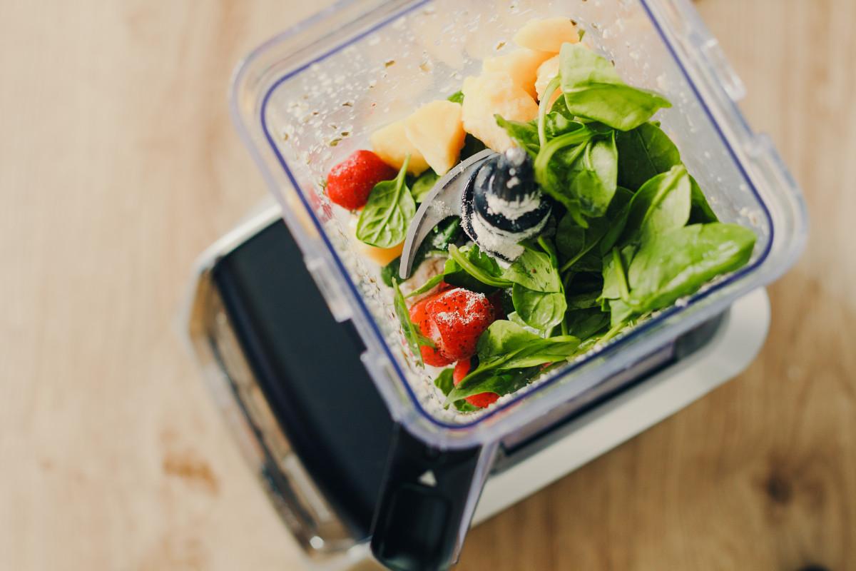 High Protein Spinach Smoothie